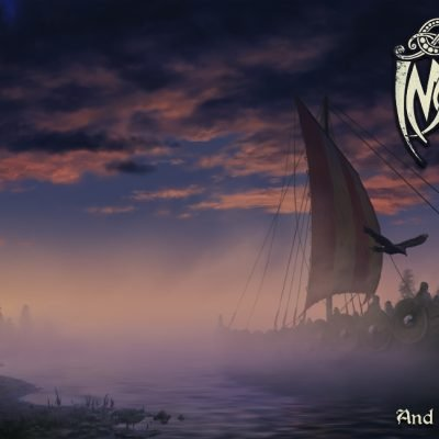 Front and back cover art for metal band Immorgon.